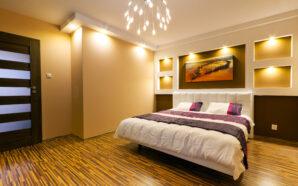 Jakie lampy sufitowe wybrać do sypialni?